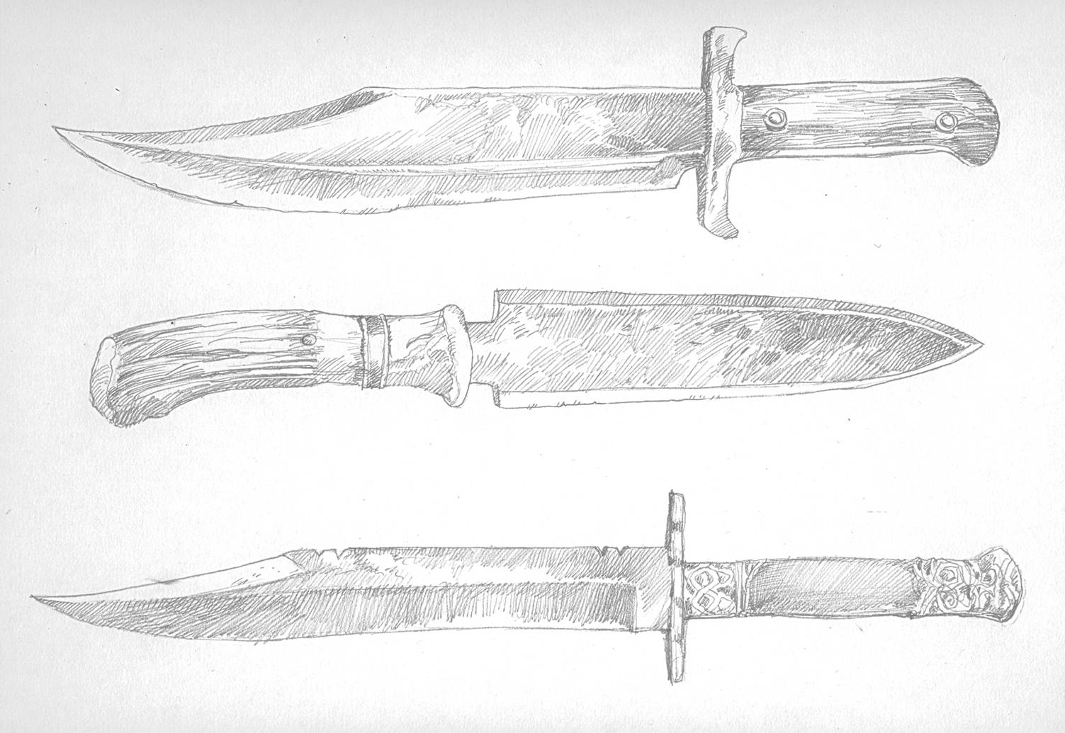 Red Country Artwork Knives | Joe Abercrombie