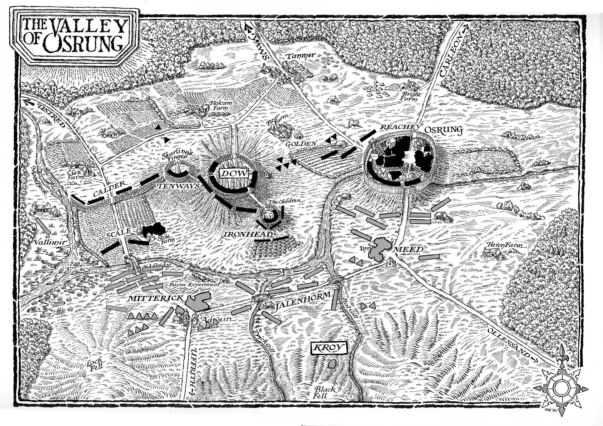 Joe Abercrombie   Maps for The Heroes